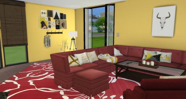 Golden Rose Livingroom at Pandasht Productions image 2684 Sims 4 Updates