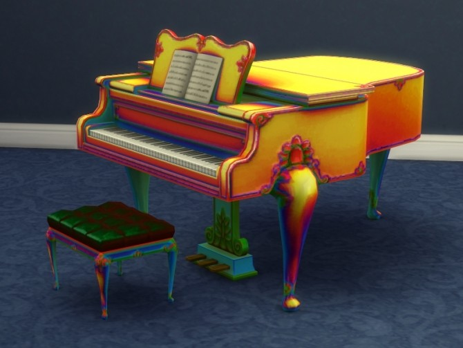 Buyable Classical Piano recolors by xordevoreaux at Mod The Sims image 2725 670x503 Sims 4 Updates