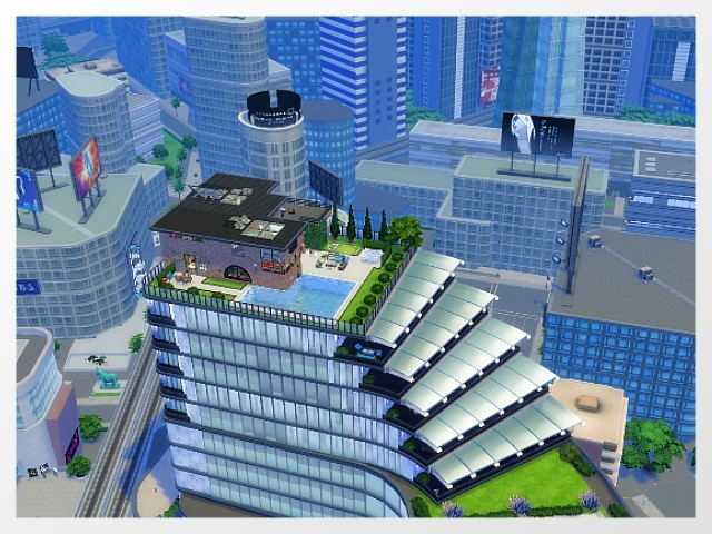 Sims 4 Penthouse by Oldbox at All 4 Sims