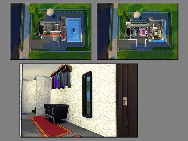 Sims 4 MB Blue Emotion house by matomibotaki at TSR