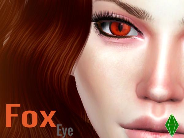 Sims 4 Fox Eyes by LJP Sims at TSR