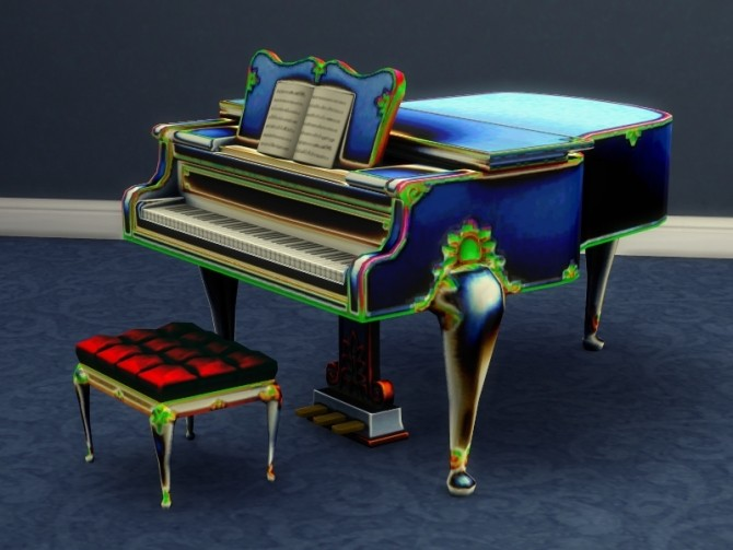 Buyable Classical Piano recolors by xordevoreaux at Mod The Sims image 2824 670x503 Sims 4 Updates
