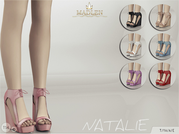 Sims 4 Madlen Natalie Shoes by MJ95 at TSR