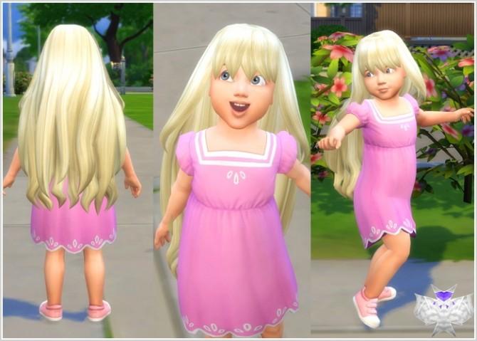 Sims 4 Princess Hair for Toddlers at David Sims