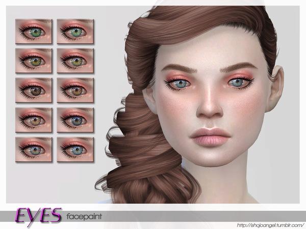 Sims 4 Eyes Set 6 by ShojoAngel at TSR