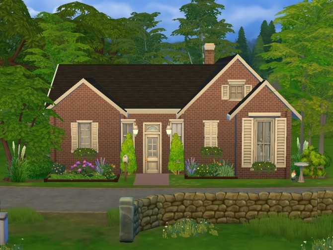 Sims 4 Simple but Effective Family Home by simsessa at Mod The Sims