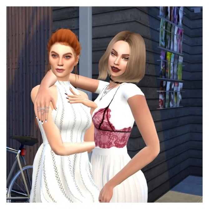 Sims 4 IVY nails at JFC Sims