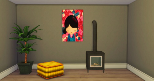 Sims 4 Little Dolls paintings at ChiLLis Sims