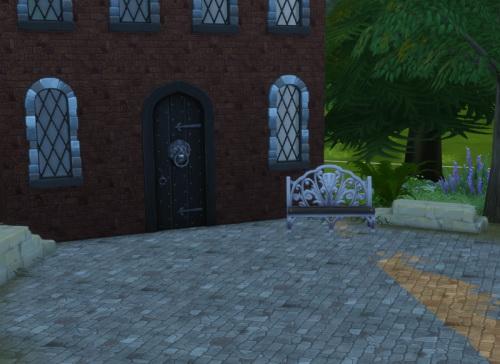 Sims 4 Stone wall & terrainpaint set at ChiLLis Sims