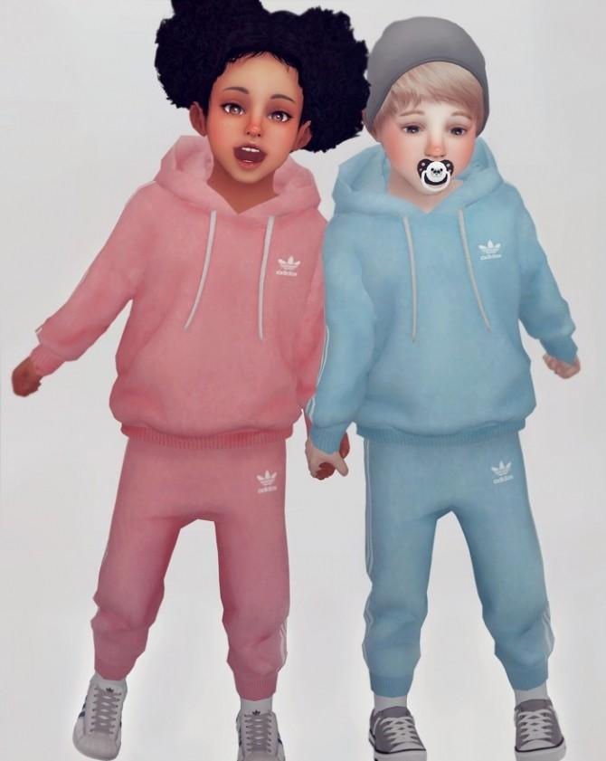 Sims 4 Jogger set for Toddler at KK's Sims4 – ooobsooo