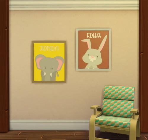 Sims 4 Pets Painting Simlish Font at ChiLLis Sims