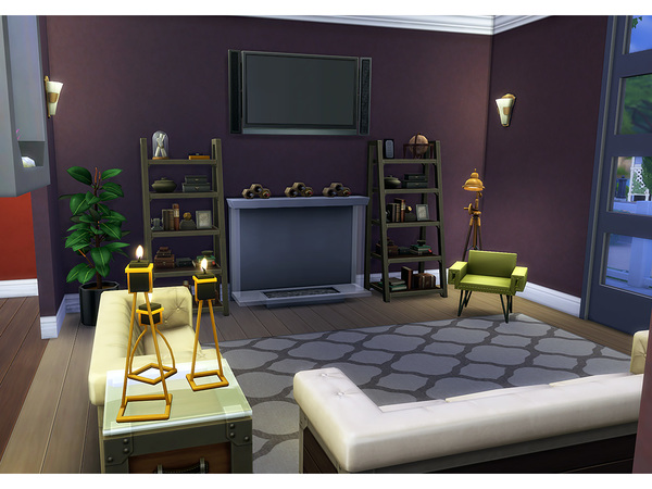 Achromic house by Degera at TSR image 3015 Sims 4 Updates