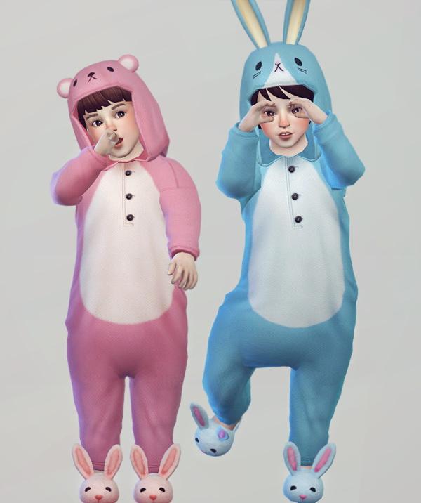 Imadako animal night wear conversion for Toddler at KK's ...