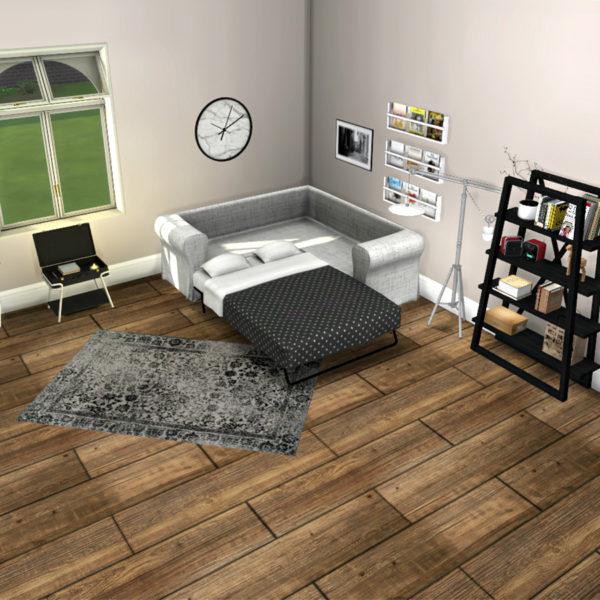 Sims 4 Sofa Bed at Leo Sims