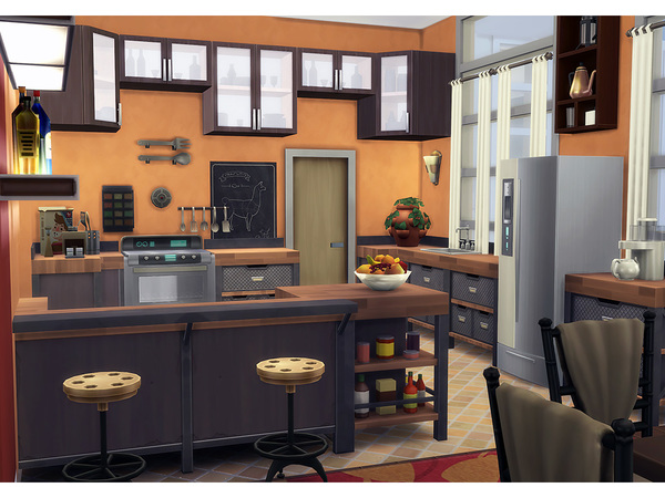 Achromic house by Degera at TSR image 3114 Sims 4 Updates