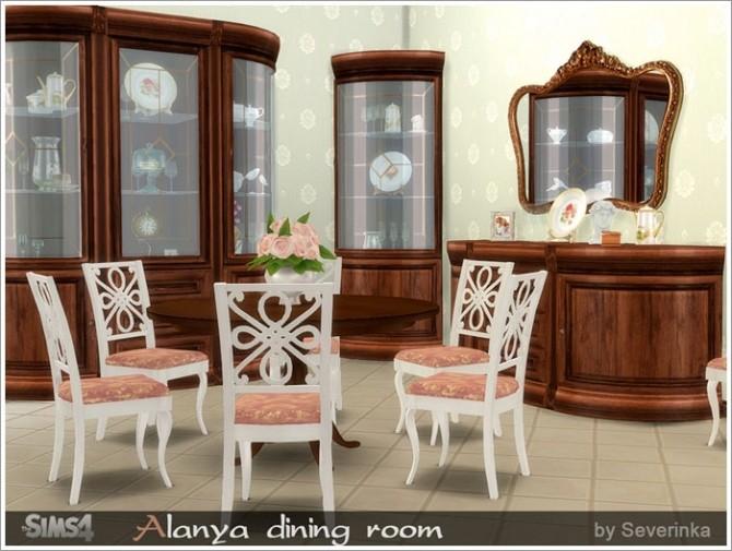 Alanya dining room at Sims by Severinka image 3115 670x505 Sims 4 Updates