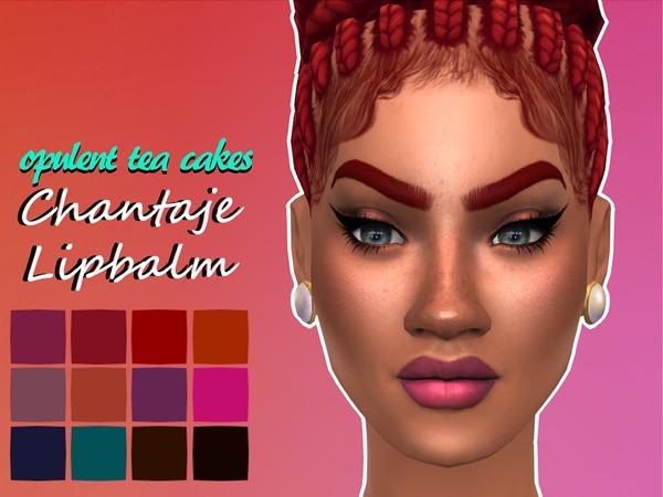 OTC Chantaje Lipbalms by opulentteacakes at TSR image 3212 Sims 4 Updates