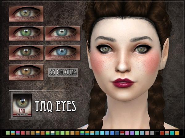 Sims 4 Taq Eyes by RemusSirion at TSR