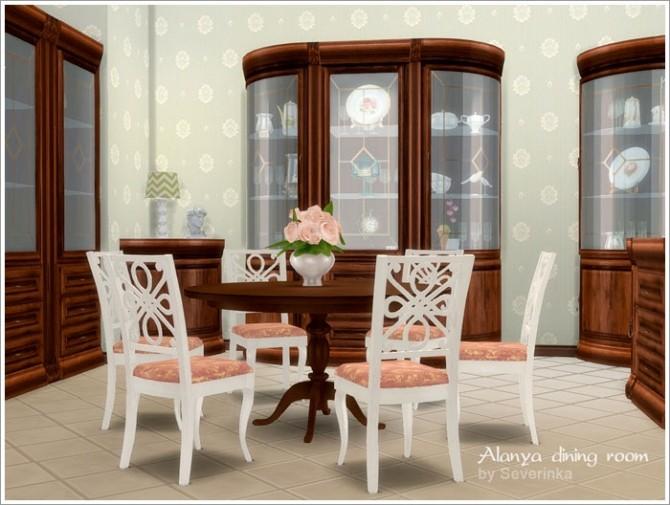 Alanya dining room at Sims by Severinka image 3310 670x505 Sims 4 Updates