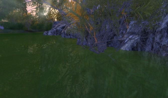 Sims 4 Retextures EP02 green water at Alf si