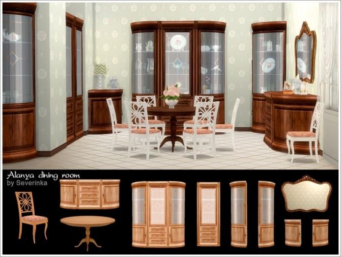 Alanya dining room at Sims by Severinka image 348 670x505 Sims 4 Updates