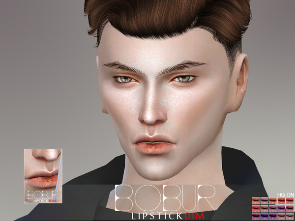 Sims 4 Lipstick 01M by Bobur3 at TSR