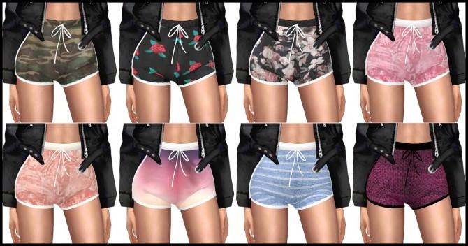 Zendra Shorts At Kenzar Sims 187 Sims 4 Updates