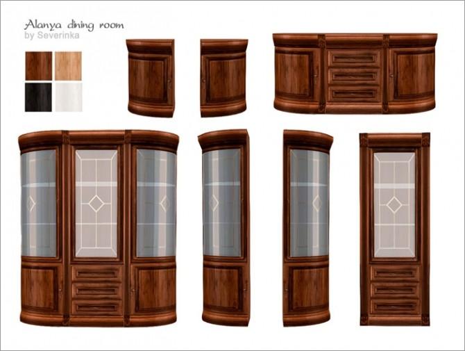 Alanya dining room at Sims by Severinka image 378 670x505 Sims 4 Updates