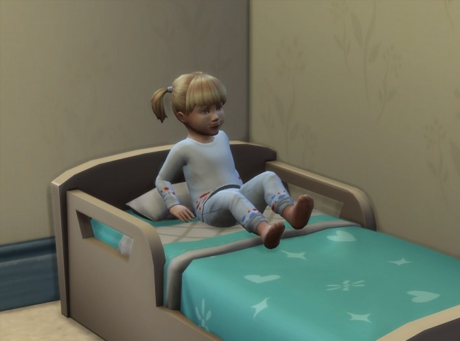 Sims 4 Toddlers have less nightmares by Candyd at Mod The Sims