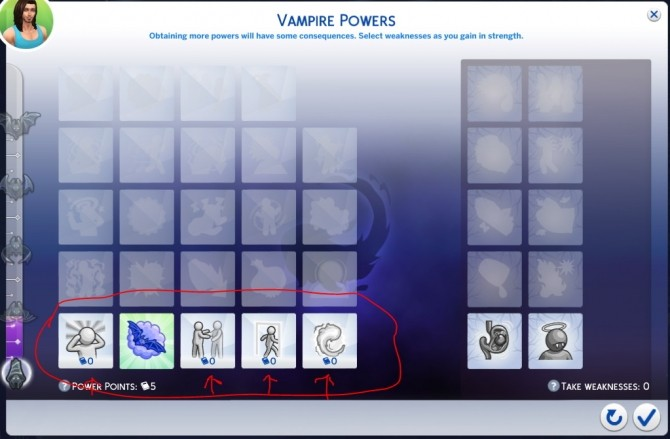 Free Vampire Perks by ddplace at Mod The Sims image 386 670x439 Sims 4 Updates