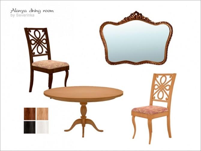 Alanya dining room at Sims by Severinka image 387 670x505 Sims 4 Updates