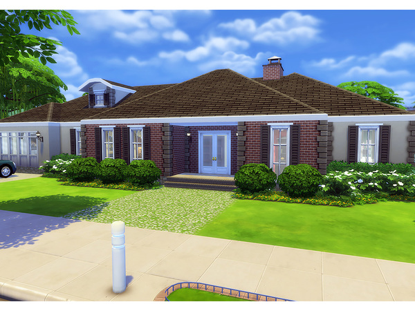 Woodberry house by Degera at TSR image 4014 Sims 4 Updates