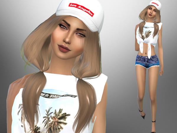 Natalie Harman by divaka45 at TSR image 4016 Sims 4 Updates