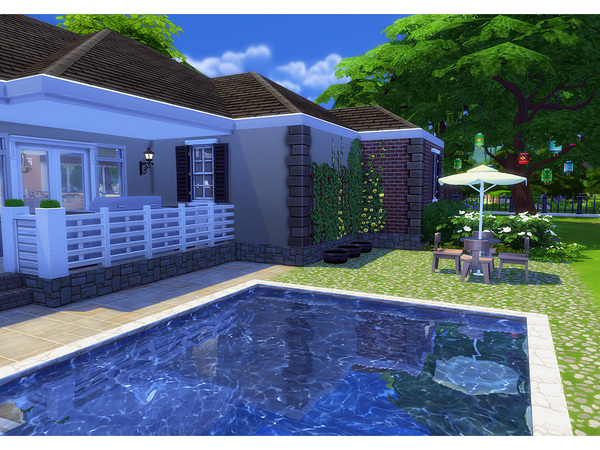 Woodberry house by Degera at TSR image 4118 Sims 4 Updates