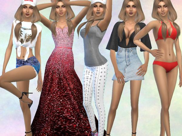 Natalie Harman by divaka45 at TSR image 4120 Sims 4 Updates