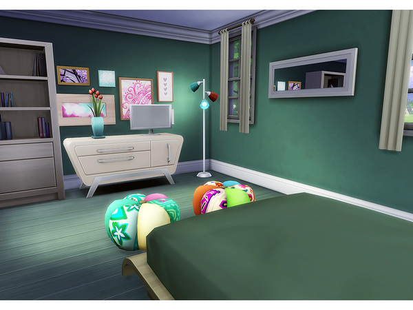 Woodberry house by Degera at TSR image 4214 Sims 4 Updates