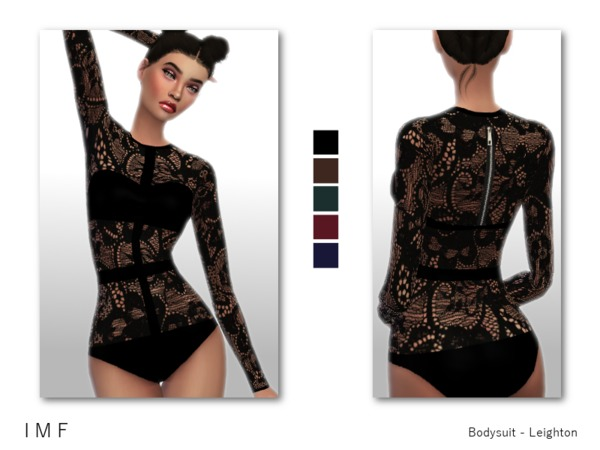 Sims 4 IMF Bodysuit by IzzieMcFire at TSR