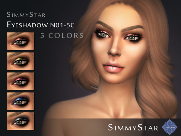 Eyeshadow N01 by Simmy.Star at TSR image 434 Sims 4 Updates