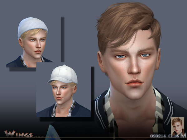 Sims 4 HAIR OS0214 by WingsSims at TSR