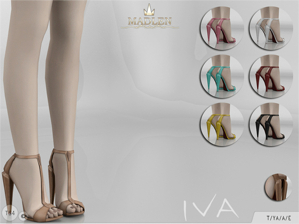 Sims 4 Madlen Iva Shoes by MJ95 at TSR