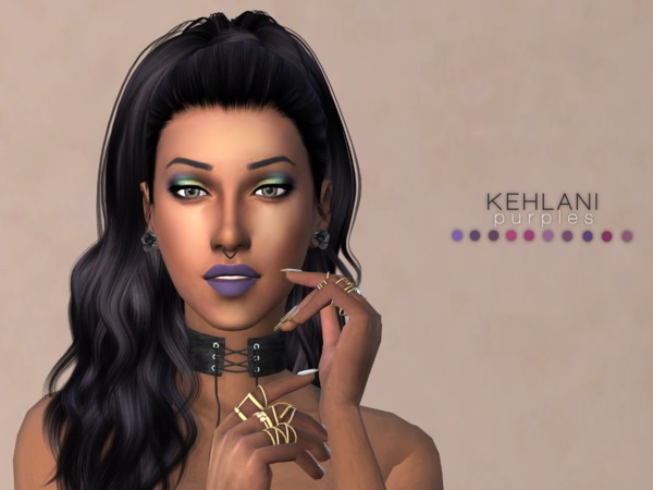 Kehlani Lipstick PURPLES by Christopher067 at TSR image 445 Sims 4 Updates