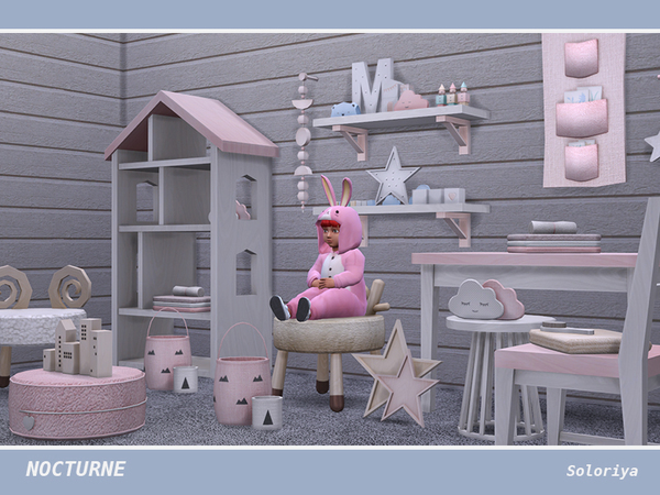 Nocturne kidsroom by soloriya at TSR image 4514 Sims 4 Updates