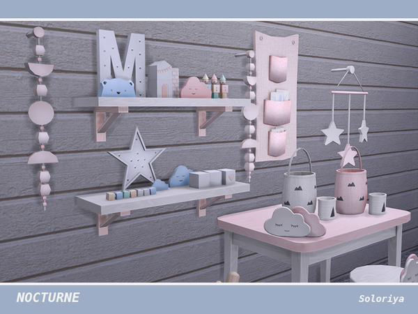 Nocturne kidsroom by soloriya at TSR image 4614 Sims 4 Updates