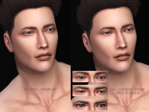Sims 4 Markus Skin Overlay HQ by Ms Blue at TSR