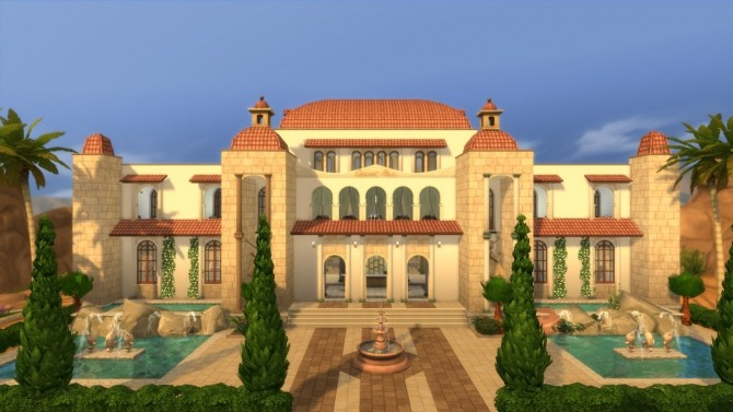 Sims 4 Aphrodites Royal Retreat by RayanStar at Mod The Sims