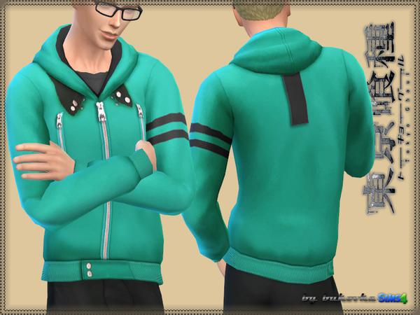Coat Tokyo Ghoul by bukovka at TSR image 483 Sims 4 Updates