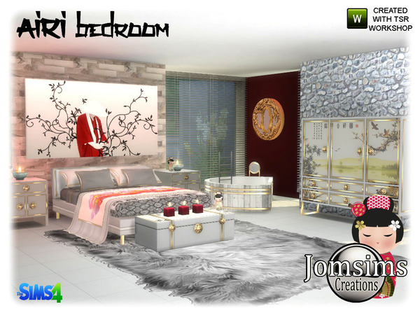 Airi bedroom by jomsims at TSR image 5015 Sims 4 Updates