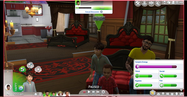 Sims 4 Child Vampire Manifestation by jerrycnh at Mod The Sims