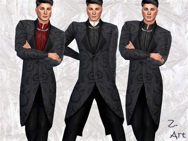 Sims 4 GothChic 01 outfit by Zuckerschnute20 at TSR