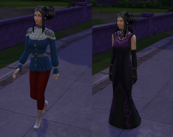 Sims 4 No Forced Outfits On Vampires by Ravynwolvf at Mod The Sims